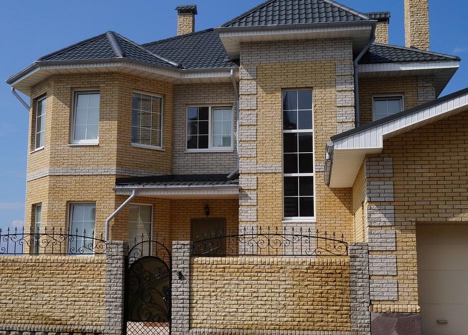 фото домов гиперпрессованный кирпич